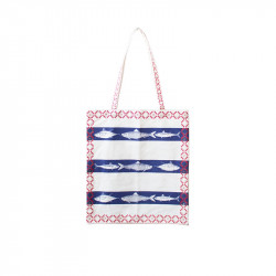 Brittany Fabric Tote Bag