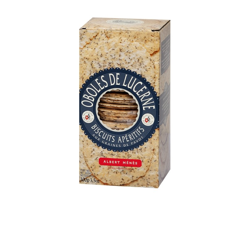 Lucerne Obole Biscuits with Poppy Seeds