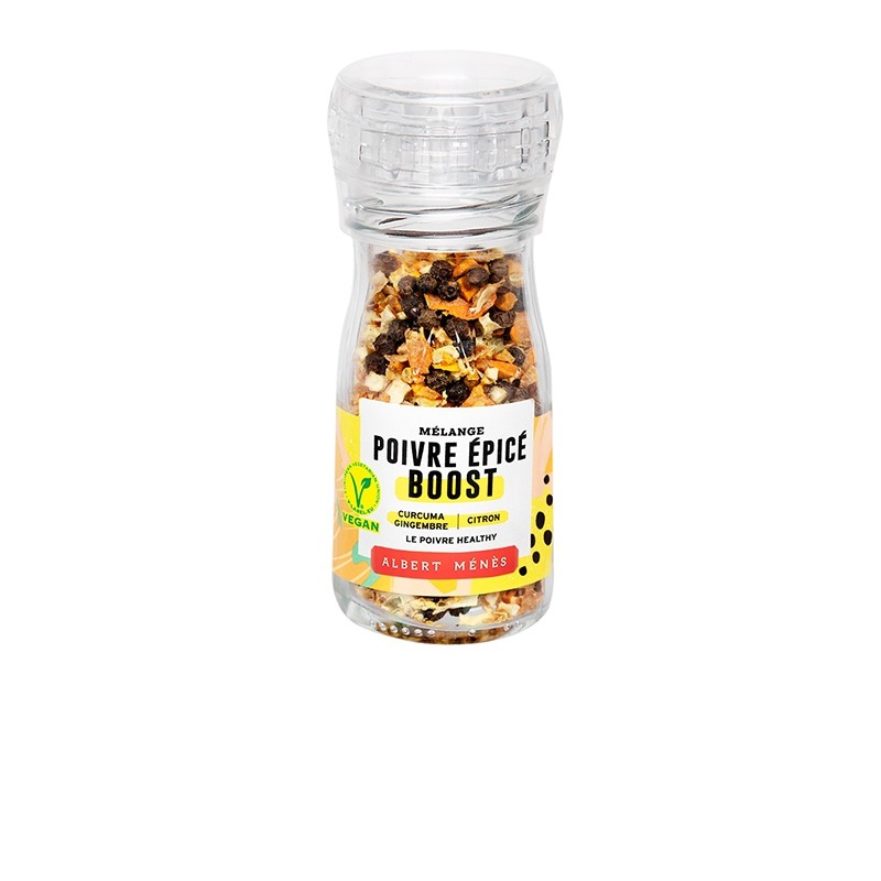 Spicy Pepper Boost Mix Mill